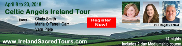 Celtic Angel Tour to Ireland with Cindy Smith & Maria O'Farrell Carr