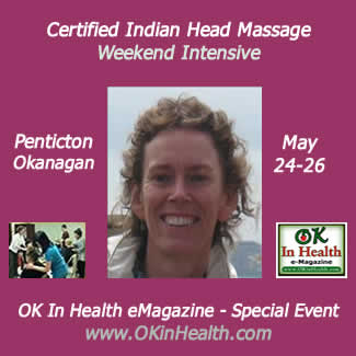 Indian Head Massage Course in Penticton