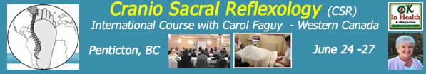 Cranio Sacral Reflexology Training in Penticton, BC