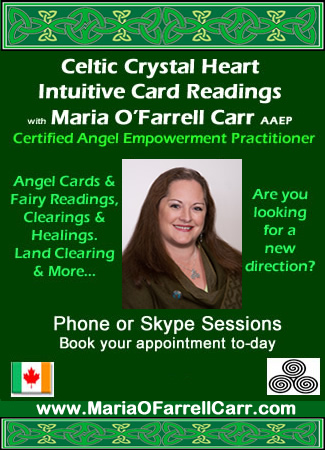 Celtic Healings Intuitive Readings with Maria O'Farrell Carr