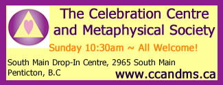 Celebration Centre and Metaphysical Society – Penticton, BC