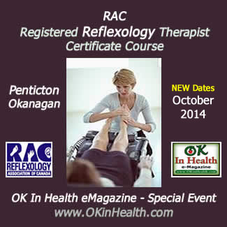 Registered Reflexology Therapist Certificate Course - Penticton
