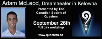 Adam McLeod, Dreamhealer in Kelowna