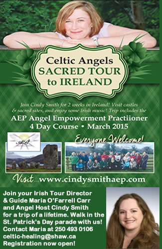 14 Day Celtic Angel Tour to Ireland with Maria Carr & Cindy Smith