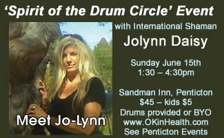 'Spirit of the Drum Circle' Event with Jolynn Daisy