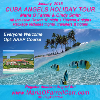 Cuba Angels Holiday Tour with Maria O'Farrell Carr & Cindy Smith