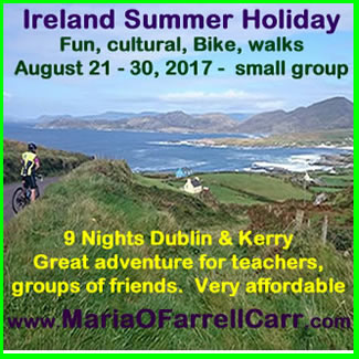Ireland Summer Active Fun Tour 2017