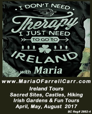 Ireland Sacred and Holiday Tours with Maria