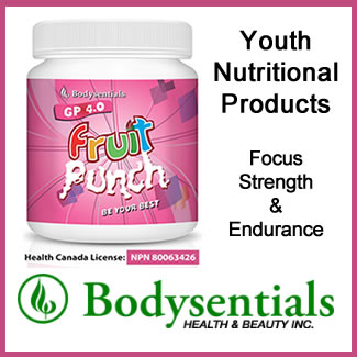 Bodysentials - Youth Nutritional Products - Focus Strength & Endurance. MADE IN CANADA