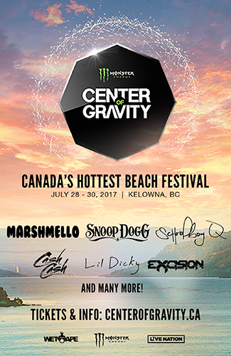 2017 Center of Gravity - Kelowna Music and Sport Festival