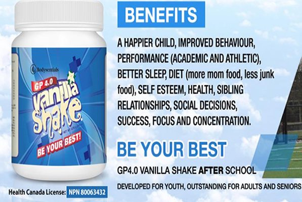 Bodysentials - Youth Nutritional Product - After school shakes