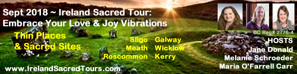 Ireland Sacred Tours: Embrace Your Inner Love & Joy Vibrations