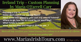 Maria's Ireland Itinerary Planning Services