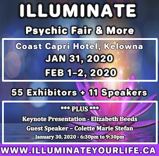 kelowna's Illuminate 2020 Psychic Fair & More