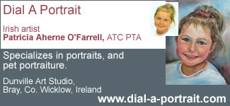portrait pet children Irish special postage rate