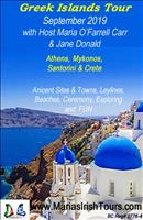 Greek Islands Tour with Maria