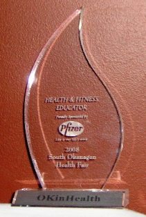 Health & wellness educator award